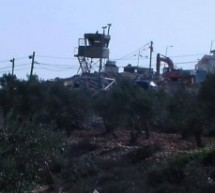 Israeli bulldozers destroy Palestinian lands south of Nablus (in Qusra Village)