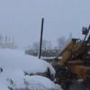 تساقط الثلوج بغزارة على قصرة 13-12-13