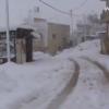 تساقط الثلوج على قرية قصرة 2013