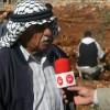 تقرير فضائية معا عن حملة زراعة الزيتون (مشروع تخضير فلسطين) في قصرة.