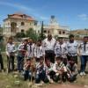كشافة مدرسة الذكور الاساسية يشاركون بتنظيف المقبرة العامة