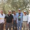 تقارير متلفزة عن زيارة وزير الزراعة الى قرية قصرة