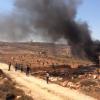 المستوطنون وقوات الإحتلال يعتدون على المواطنين واندلاع مواجهات
