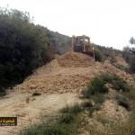 شق طرق زراعية في قرية قصرة بالتعاون مع وزارة الزراعة الفلسطينية (5)