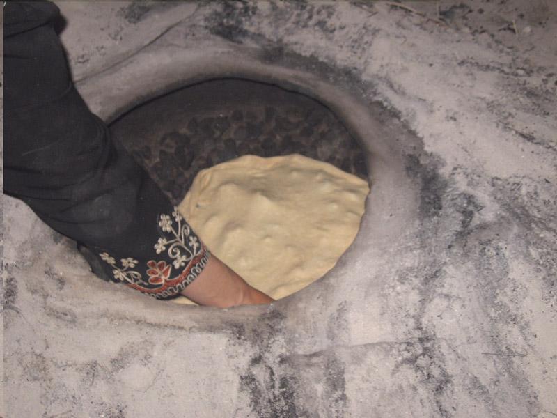 خبز الطابون**** 7