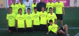 فريق كرة القدم في مدرسة الشهيد ياسر عرفات يحقق بطولة جنوب نابلس