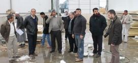 وزير الزراعة المهندس وليد عساف يزور قصرة