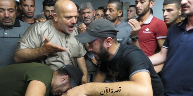 تشييع الشهيد محمد فريد الى مثواه الأخير في القرية